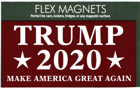 Trump 2020 Rectangle Flex Magnet