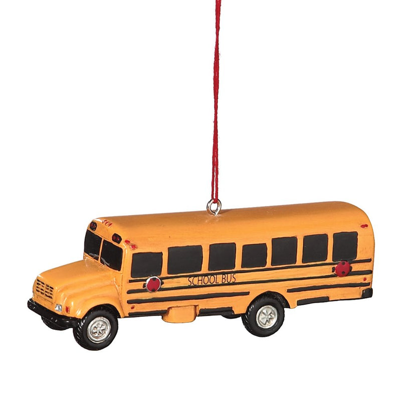 School Bus Ornament.