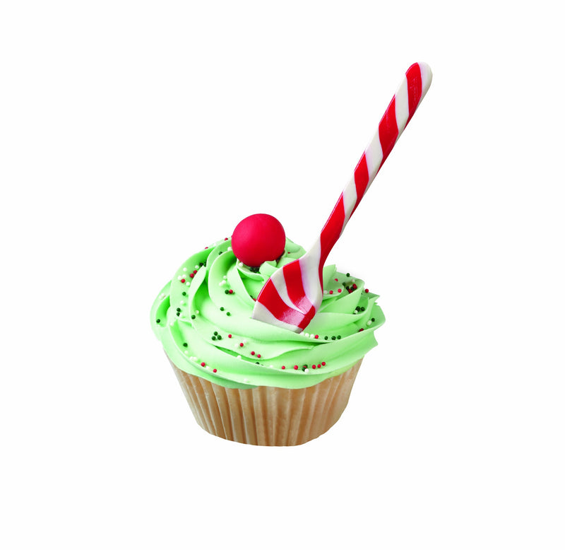 Wilton  6-Pack Peppermint Spoons