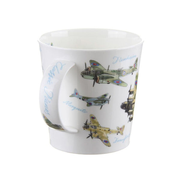 Dunoon Cairngorm Bone China Mug - Classic Collection Planes