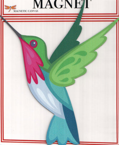 Blue Green Hummingbird  Magnet