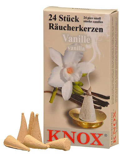 Knox German Scented Incense Cones (Pack Of 24) -