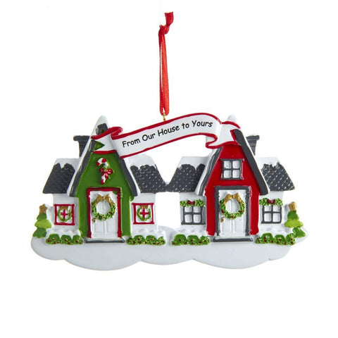 Neighbors  Personalizable Ornament