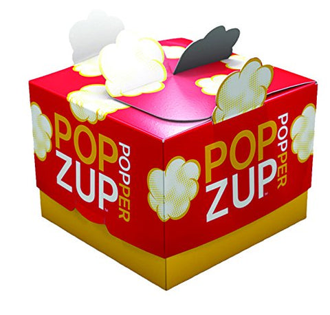 Microwave Popcorn Bags- the Box is the Reusable Popper