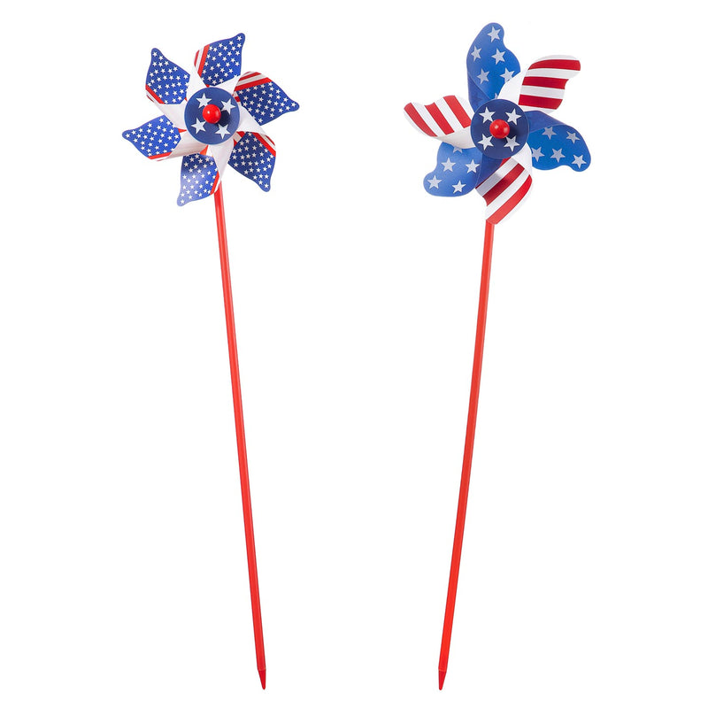 Patriotic Pinwheel: 6.75 x 24.75 inches -