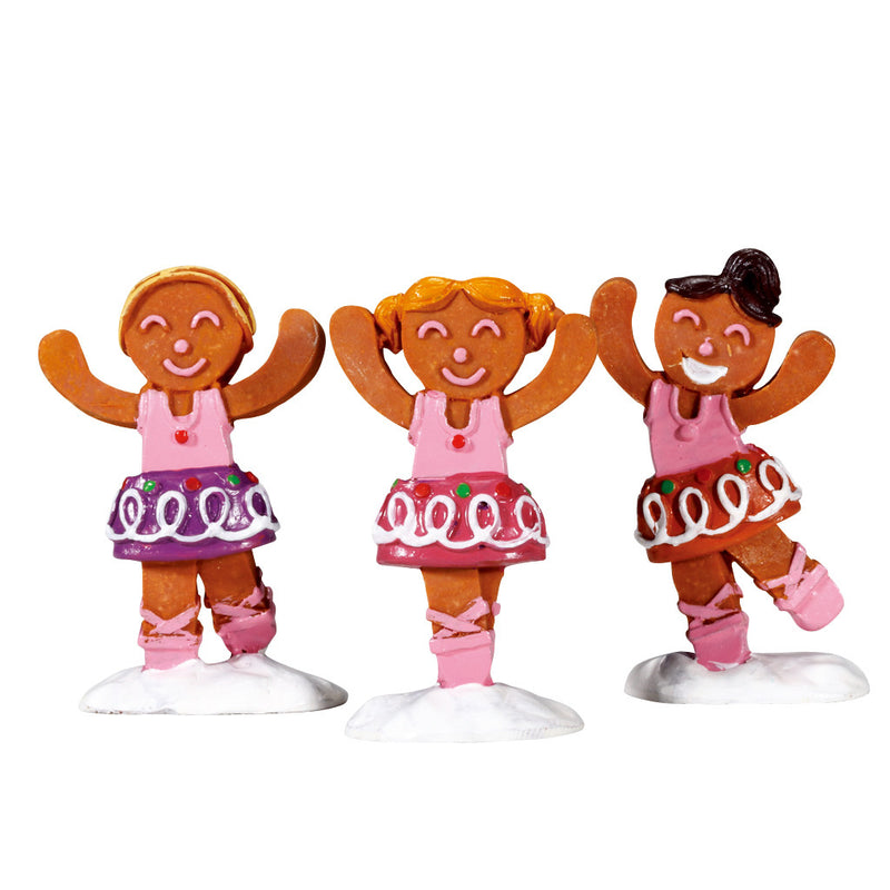 Dancing Sugar Plums, Set Of 3