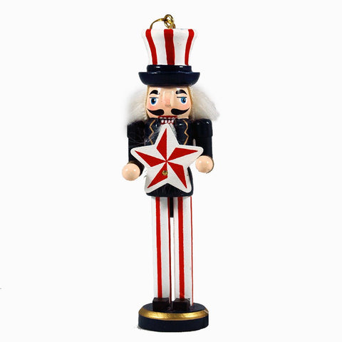 6 inch American Nutcracker Ornament