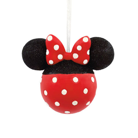 Minnie Mouse Glitter Icon Ornament