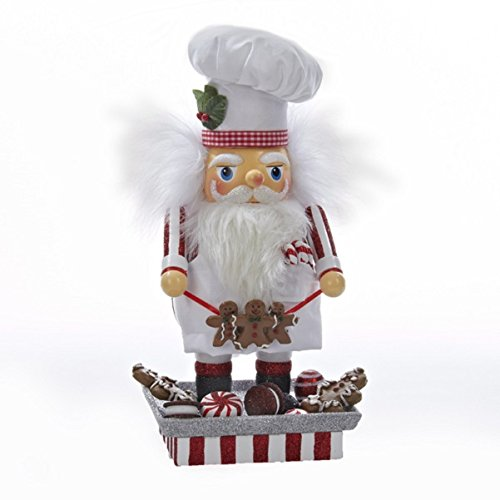 Hollywood Santa Gingerbread Chef Nutcracker
