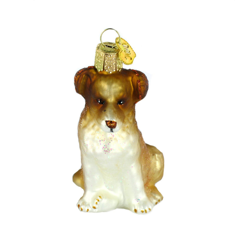 Old World Christmas Shepherd Puppy Christmas Ornament