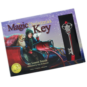 Magic Christmas Key Book With Key Ornament