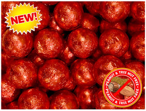 Color Splash Chocolate Balls Red - 1 Pound
