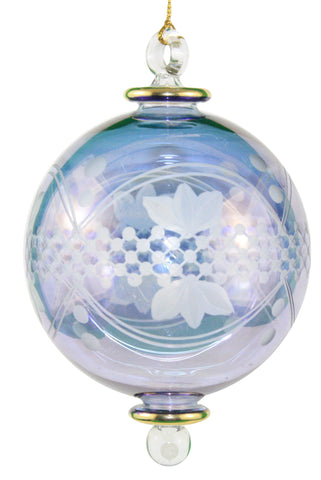 Full Size Special Etching Crystal Ball Ornament
