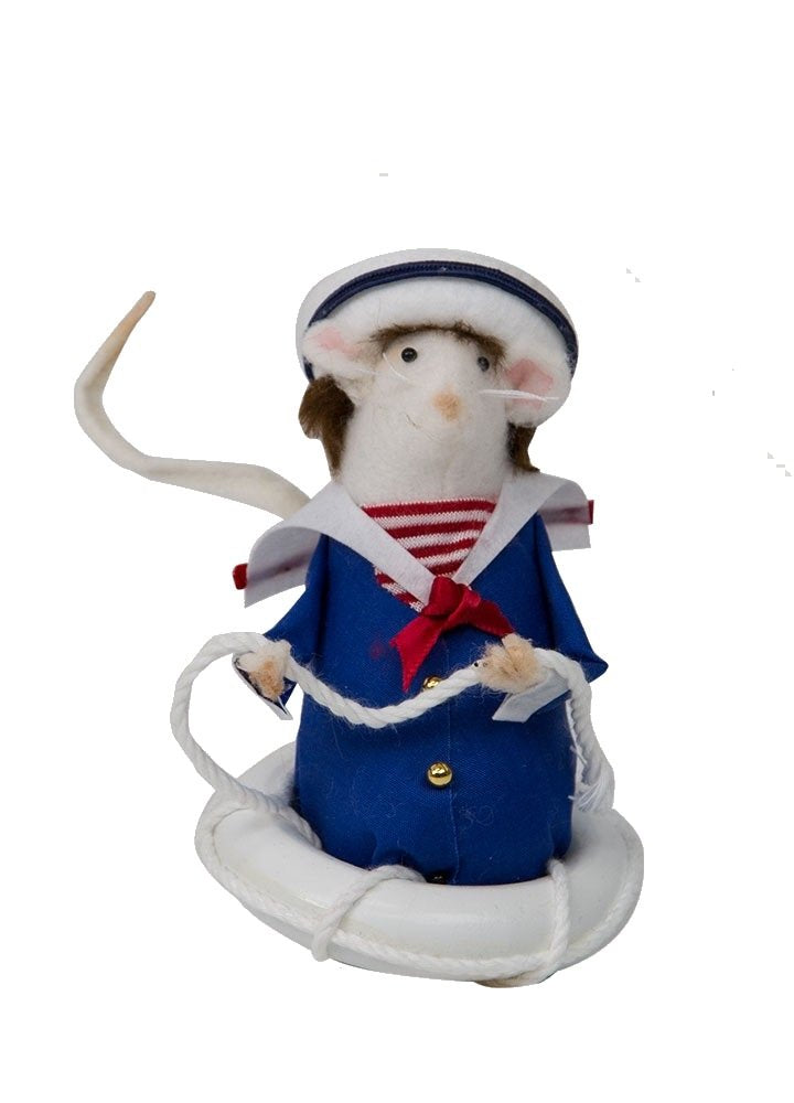Mouse In Life Preserver Ring