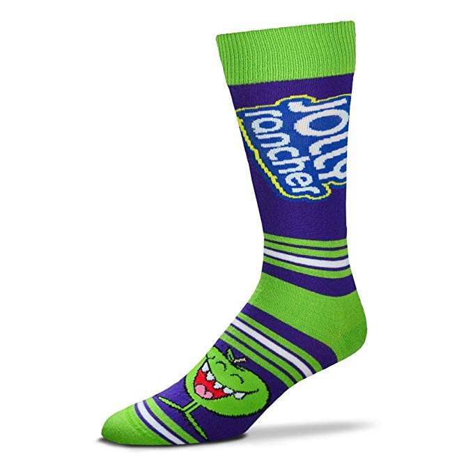 Jolly Rancher Apple -  Blue/Green Socks