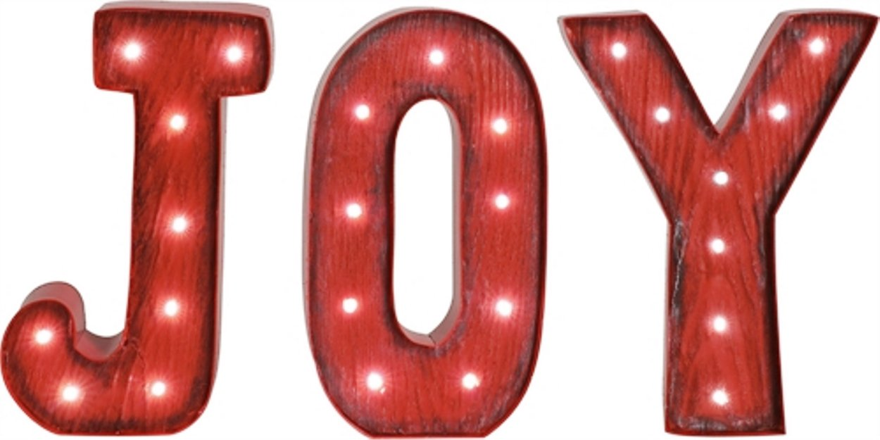 Light Up Joy Sign