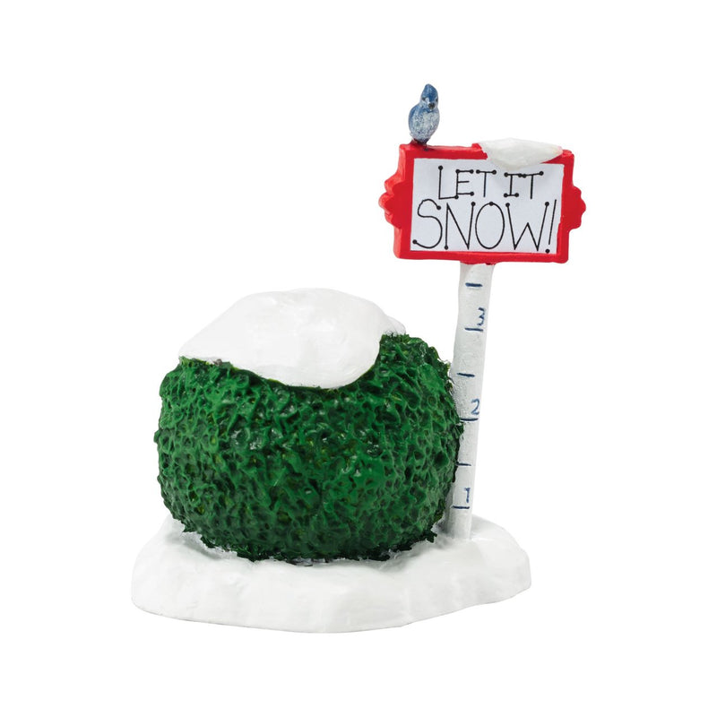 Department 56 Let It Snow Accessory Figurine