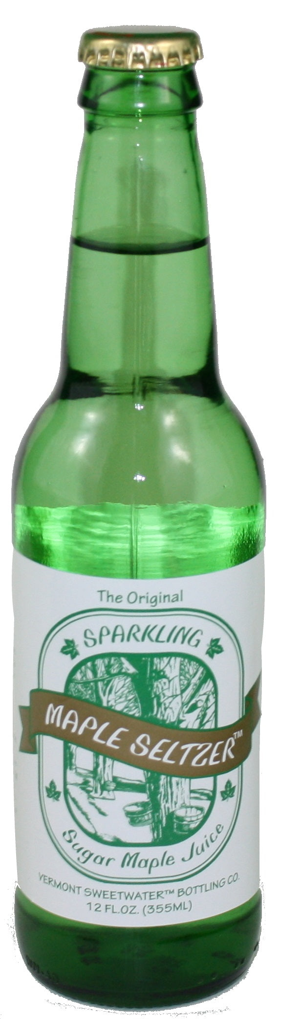 Vermont Sweetwater All Natural Glass Bottle Soda (Sparkling Maple Seltzer)