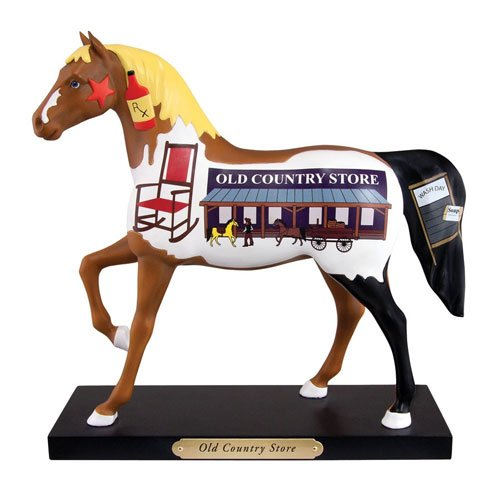 Trail Of Painted Ponies Old Country Store Horse Figurine 4035093