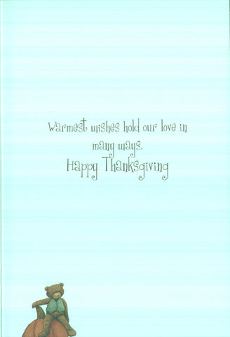 Thanksgiving Card - Happy Days