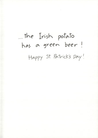 St. Patrick's Day - Irish Potato
