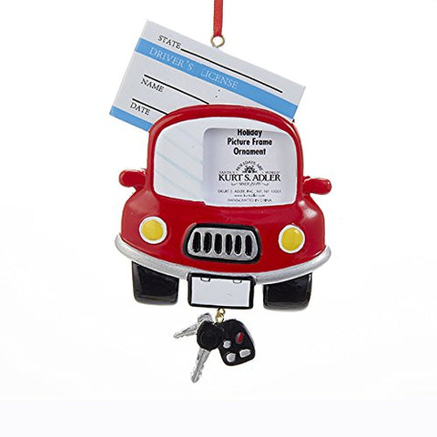 Driver's License Photo Frame Ornament