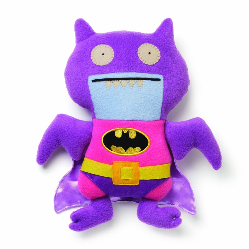 Uglydoll Dc Comics Pink/Purple Batman Plush