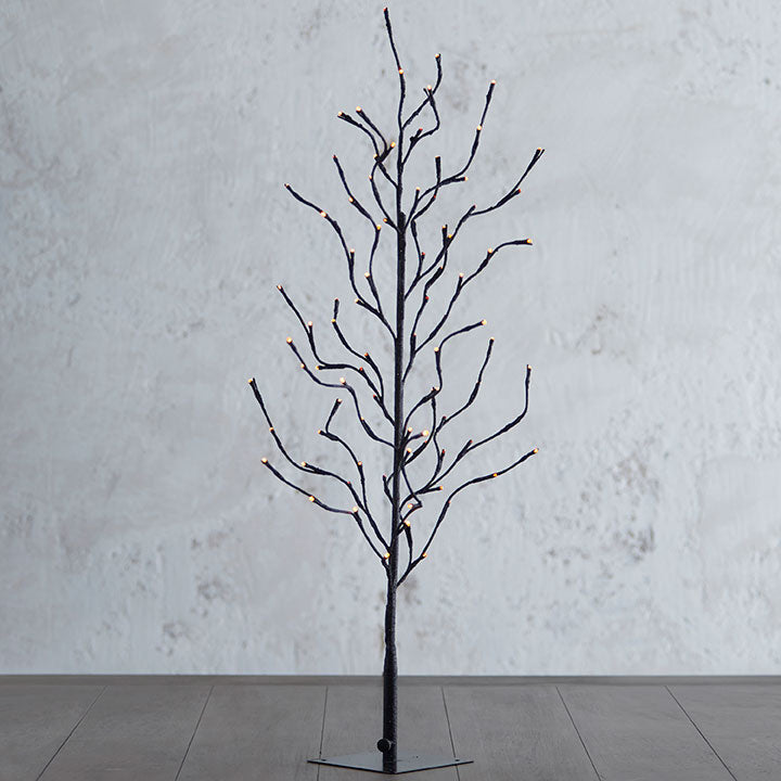 40 Inch Glittered Lighted Tree