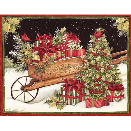 Christmas Delivery Cards