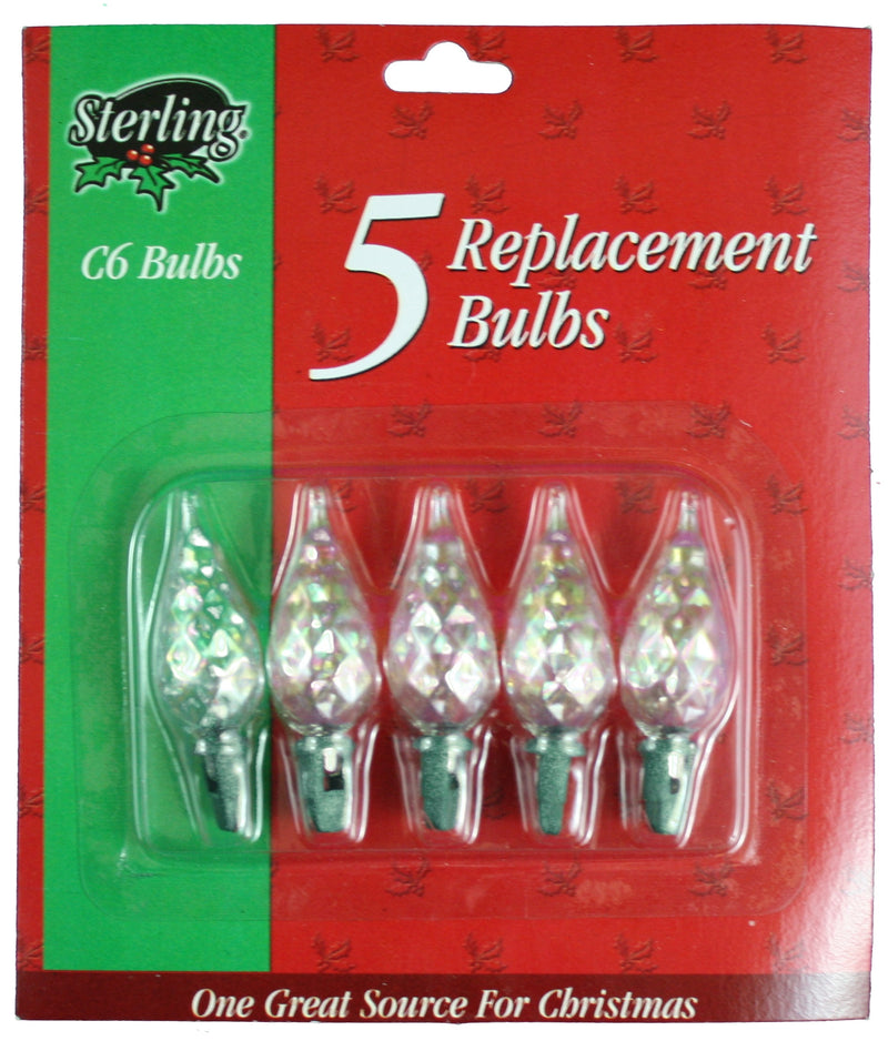 5Pk Clear Replacement Bulbs