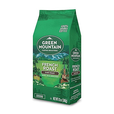 Green Mountain French Roast 12 Ounce - Ground