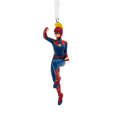 Captain Marvel Ornament