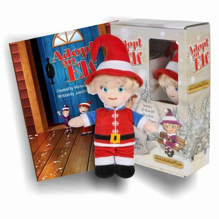 Adopt An Elf Set With Book -