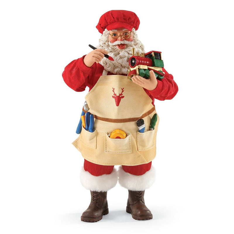 Possible Dreams Santa Clause Christmas Conductor Clothtique Christmas Figurine