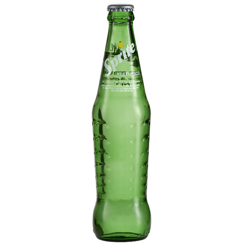 Glass Sprite - Cane Sugar - 12 oz