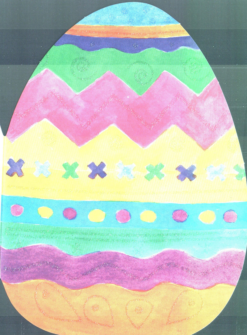 Easter Card - Chick in Egg