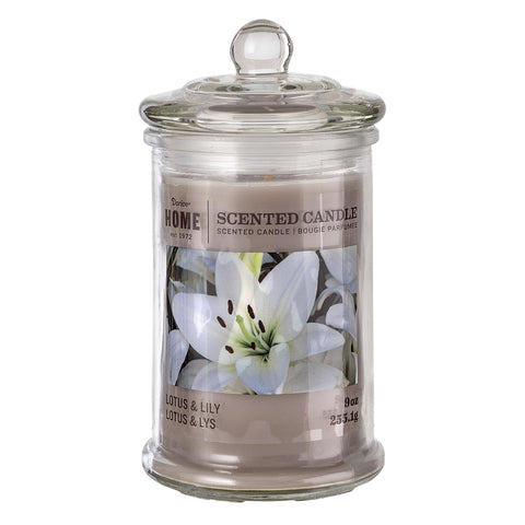 Apotheycary Jar Candle: Lotus and Lily -
