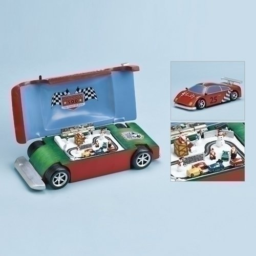 Musical Race Car With Track - 10""