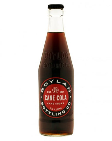 Boylan Cane Cola - 12 ounce Glass Bottle