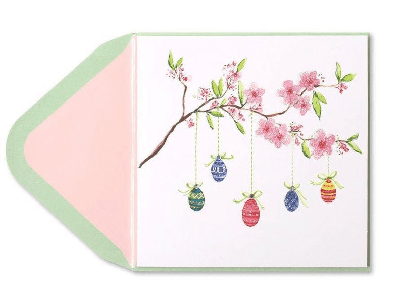 Eggs Hatching From Branches Easter Card