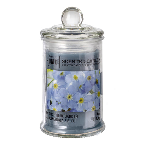 Apotheycary Jar Candle: English Blue Garden -