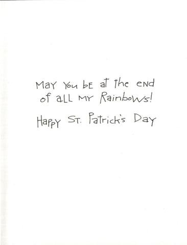 St. Patrick's Day - End Of My Rainbows