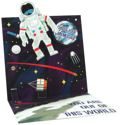 Astronaut Pop Up Card