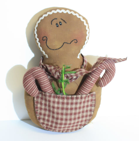 Gingerbread Man With Goodie Pouch