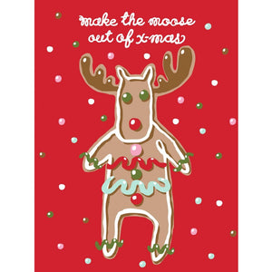 Magnet - Making Moose Christmas