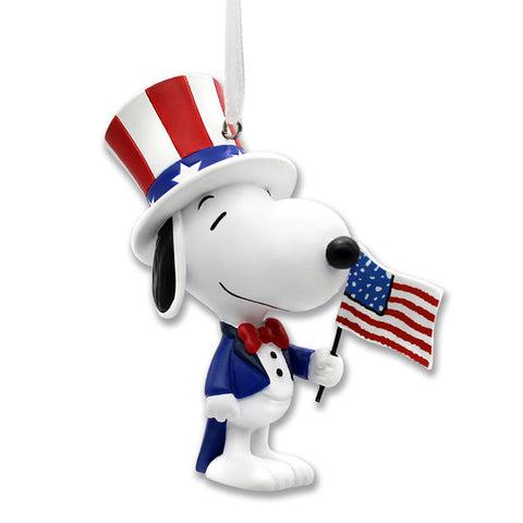 Patriotic Snoopy Ornament