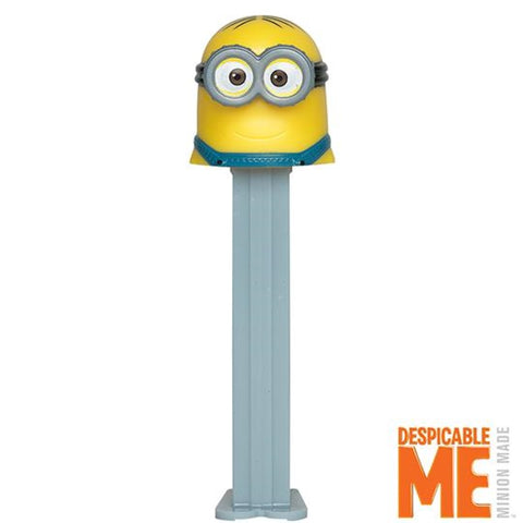 Minions Pez Dispenser with 3 Candy Rolls -