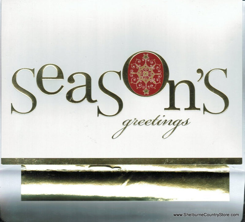 Luxury Greetings 18 Count - Seasons Greeting
