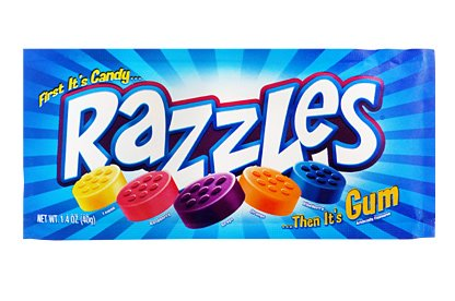 Razzles Original - 1.4oz Single Pack