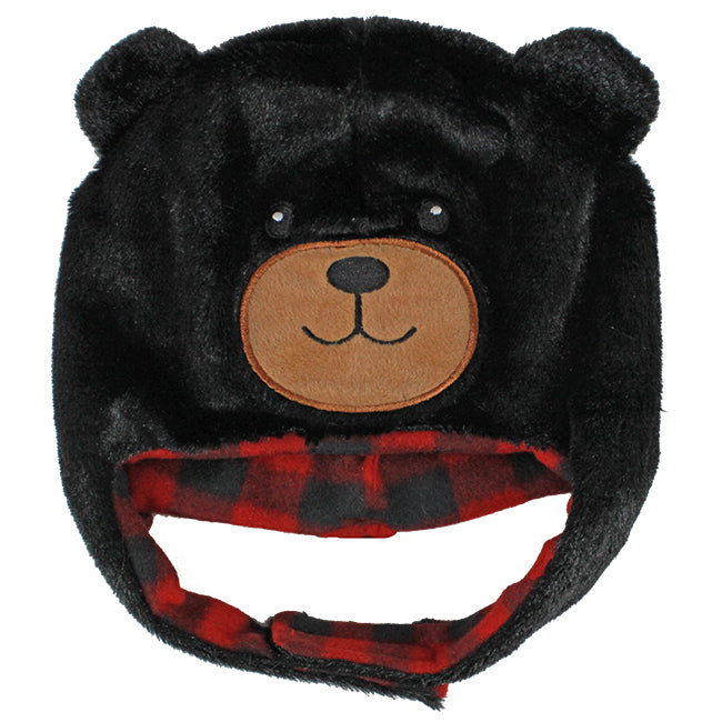 Infant Size Black Bear Hat